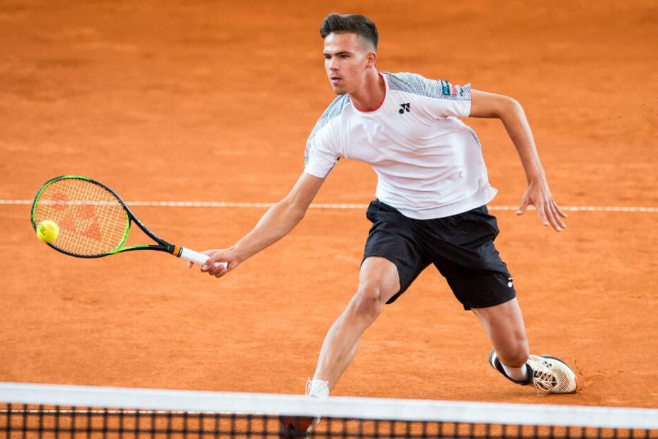 Daniel Altmaier ist erst 20 Jahre alt und spielt bei dem Turnier in Hamburg.