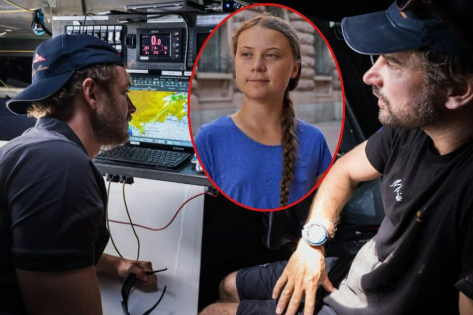 Zum Klima-Kampf nach Amerika: Greta Thunberg segelt über den Atlantik