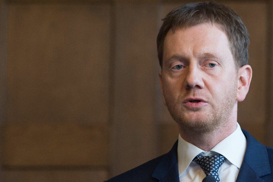 Viel zu tun: Sachsens Neu-Ministerpräsident Michael Kretschmer (42, CDU).