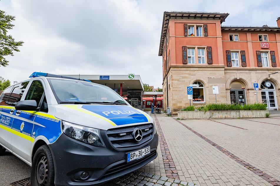 In Marbach am Neckar kam es am Freitag zu einem Polizei-Großeinsatz.