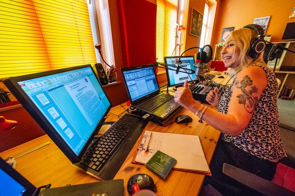 """Hat jetzt einen neuen Kollegen: """"Second Radio""""-Chefin Angelika Pörsch."""