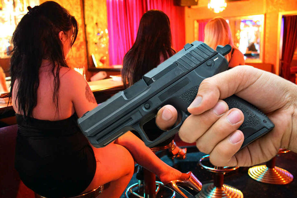 Mit einer halbautomatischen Schusswaffe soll der Angeklagte in einem Bordell um sich geschossen haben. (Symbolbild)