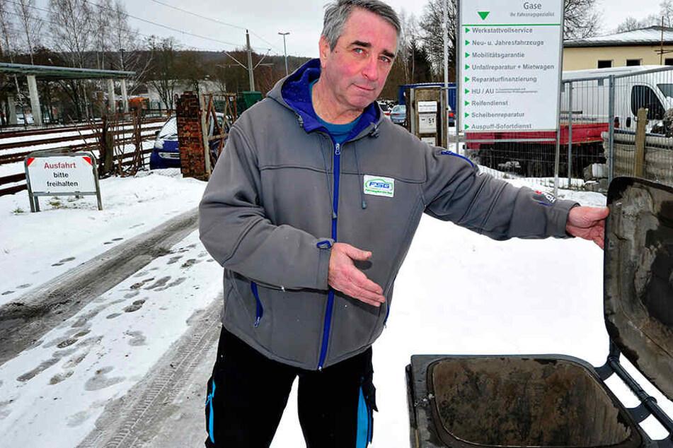 Chemnitz: Von Müllabfuhr vergessen? Diesem Chemnitzer stinkt's langsam gewaltig