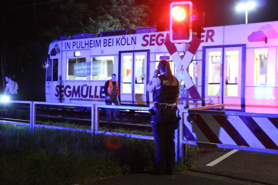 Der Unfall ereignete sich an einem Bahnübergang.