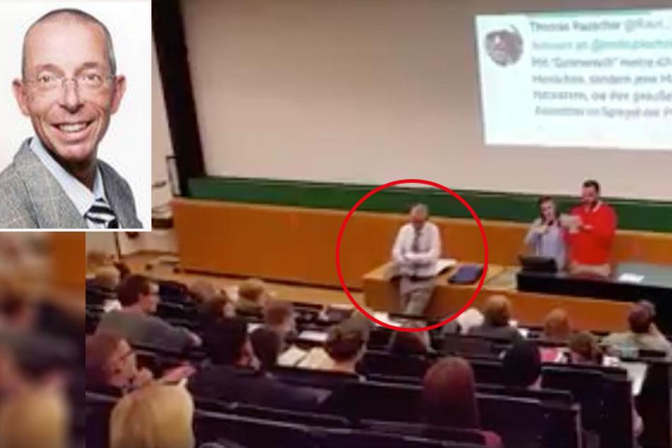 Studenten der Uni Leipzig fordern: Hetz-Professor muss gehen!