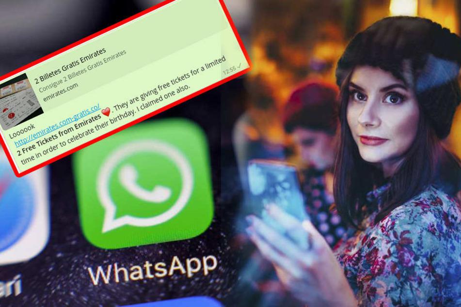 Abofalle! Vorsicht vor dieser WhatsApp-Nachricht
