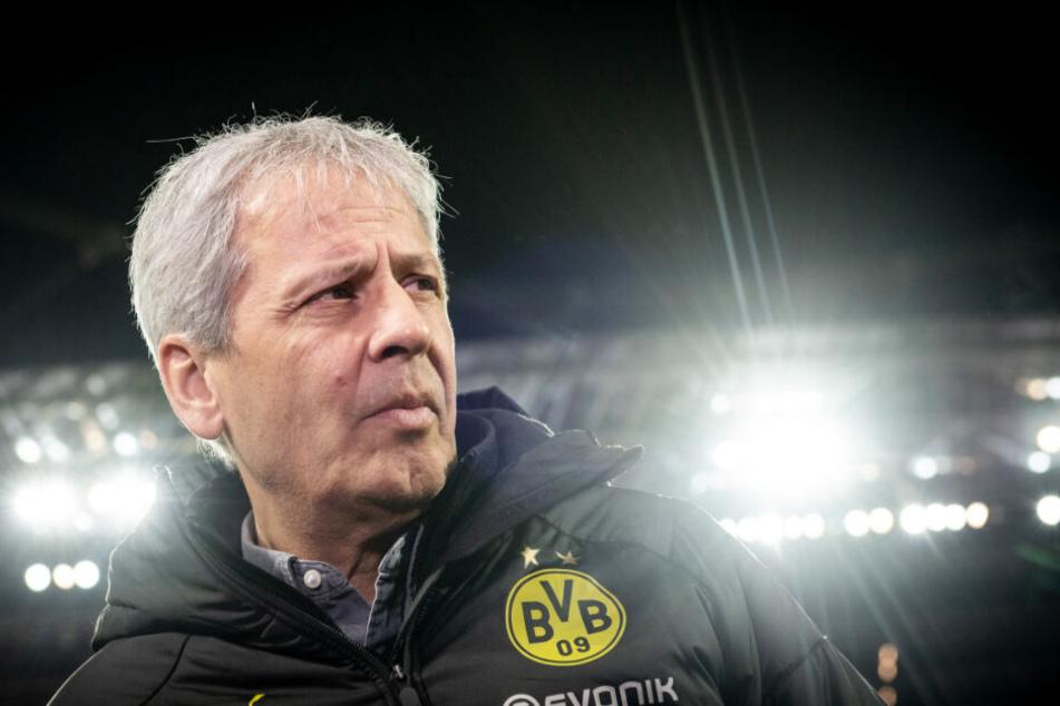 Steht einmal mehr unter Beschuss: BVB-Coach Lucien Favre.