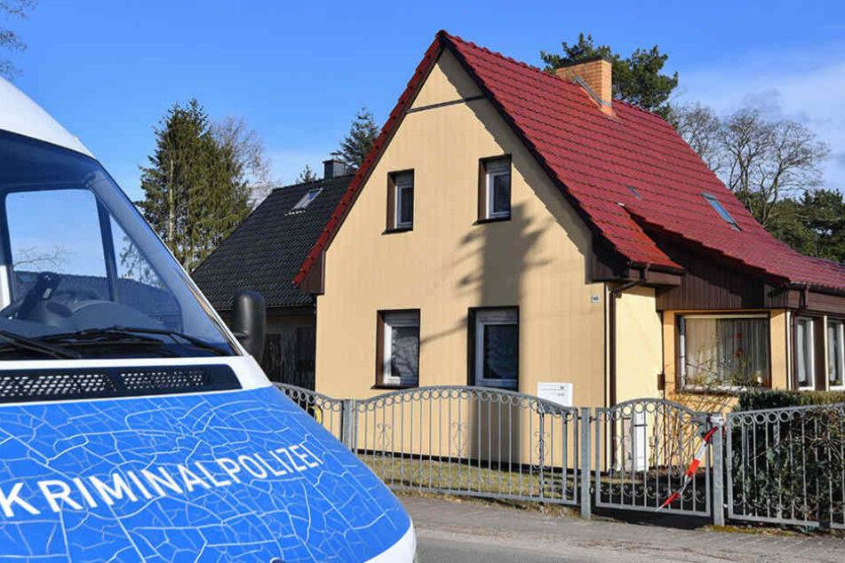 In diesem Haus in Müllrose soll der 25-Jährige seine Großmutter umgebracht haben.