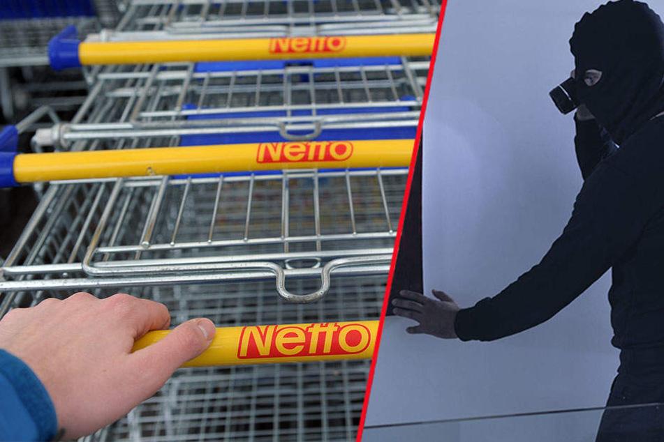 Über das Warenlager verschafften sich die Diebe Zugang zu dem Supermarkt.