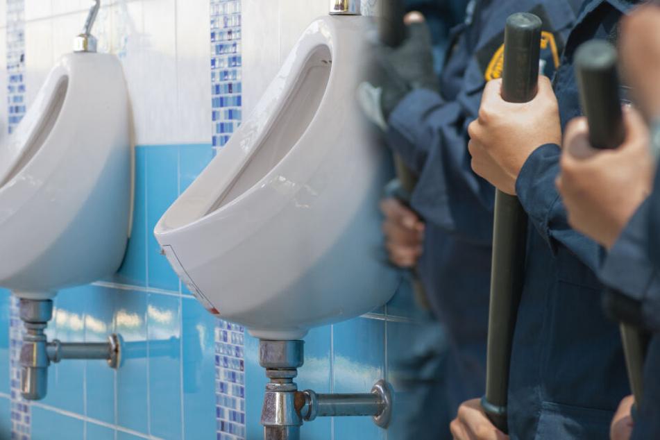 Polizist lässt Obdachlosen Urinal auslecken: Das ist der widerliche Grund