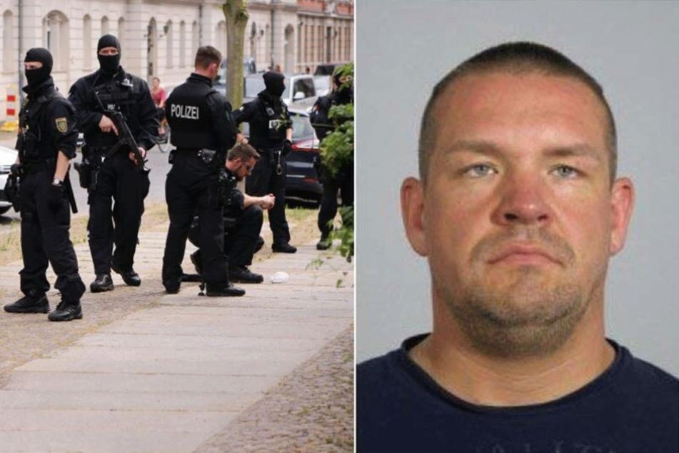 Die Polizei fahndet europaweit nach Markus Matz, dem Chef der Leipziger Hells Angels.