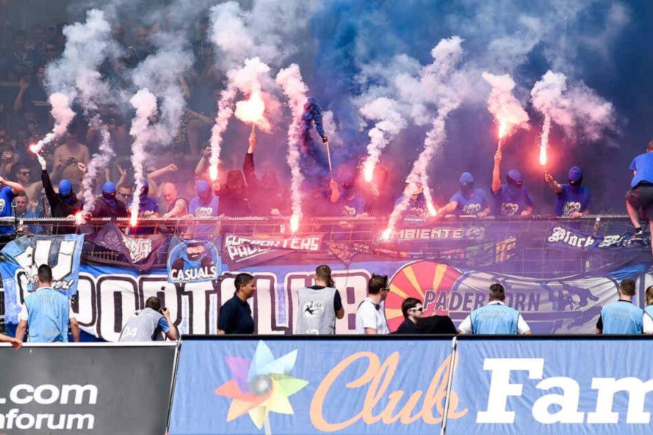 152 SCP-Fans randalierten nach dem Spiel gegen Fortuna Köln in einem Regionalexpress. Schon während des Spiels fackelten sie Pyro ab.