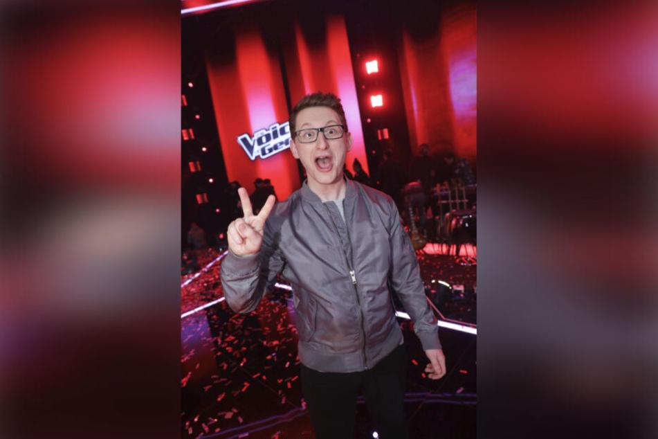 """Samuel Rösch (25) kehrt morgen zurück auf die """"The Voice of Germany""""-Bühne."""