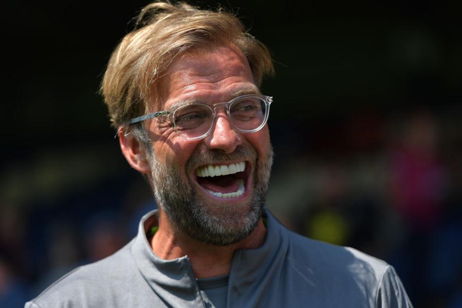 Hat gut lachen: Für Jürgen Klopp läuft es blendend beim FC Liverpool.