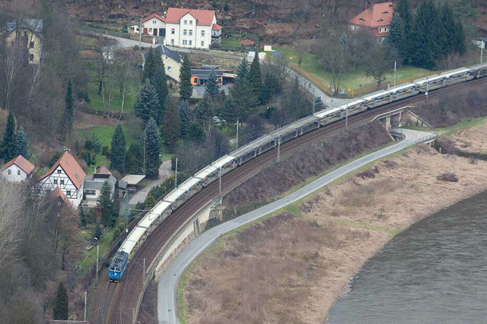 Vor allem der Güterzugverkehr raubt den Bewohnern des Elbtals den Schlaf.