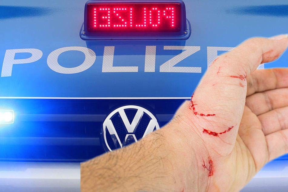 19-jährige Betrunkene  beißt Polizisten