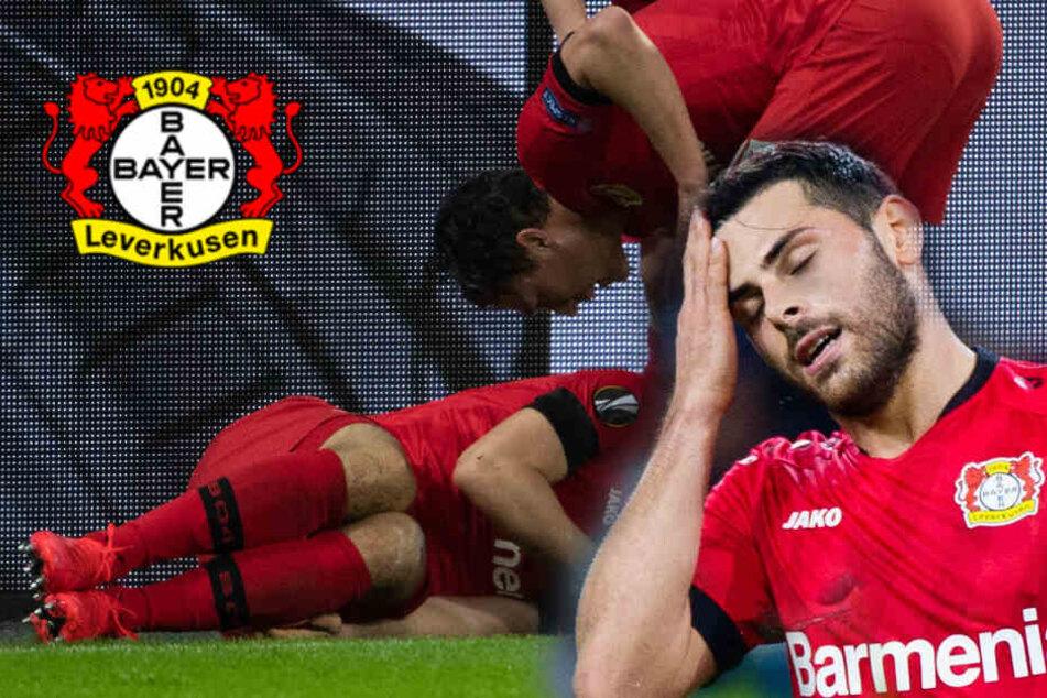 Saison-Aus für Kevin Volland! Schlimme Verletzung des Top-Scorers trifft Bayer 04 hart