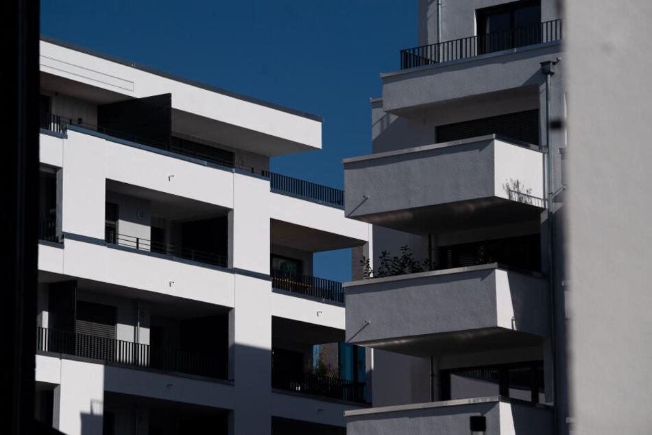 Die neuen Wohnungen soll energiesparend sein.