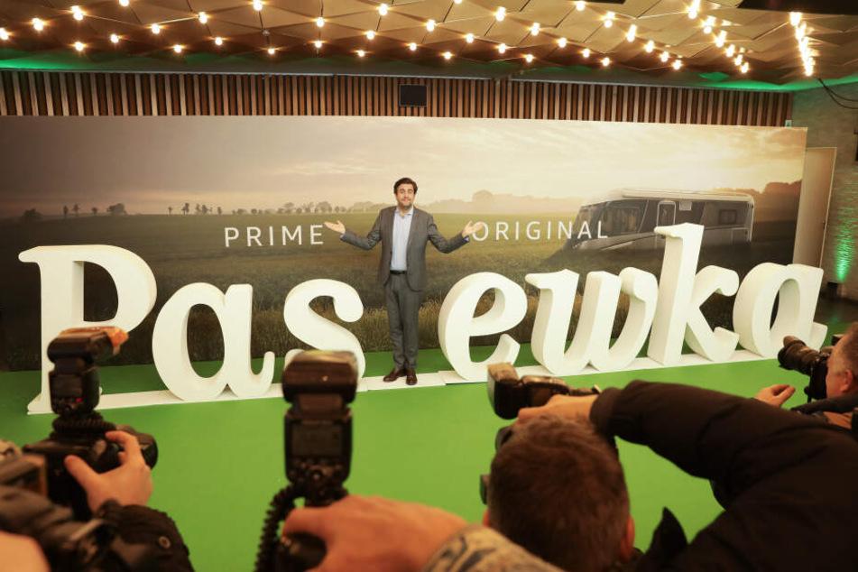 """Bastian Pastewka bei der Vorstellung der neuen """"Pastewka""""-Staffel, die auf Amazon Prime läuft. (Archivbild)"""