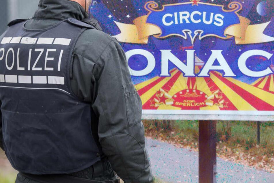 Zirkusmitglied angeschossen: Polizei durchkämmt Winterquartier