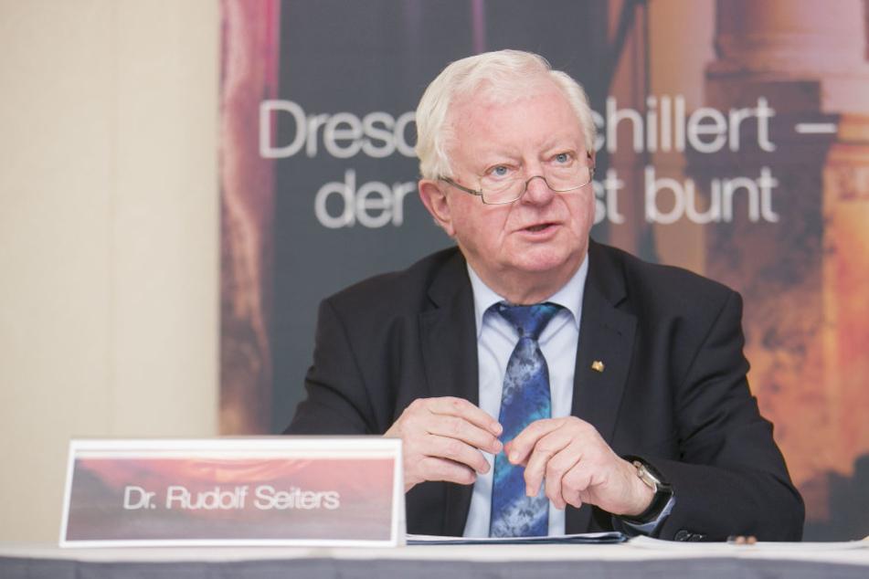 DRK-Präsident Rudolf Seiters.