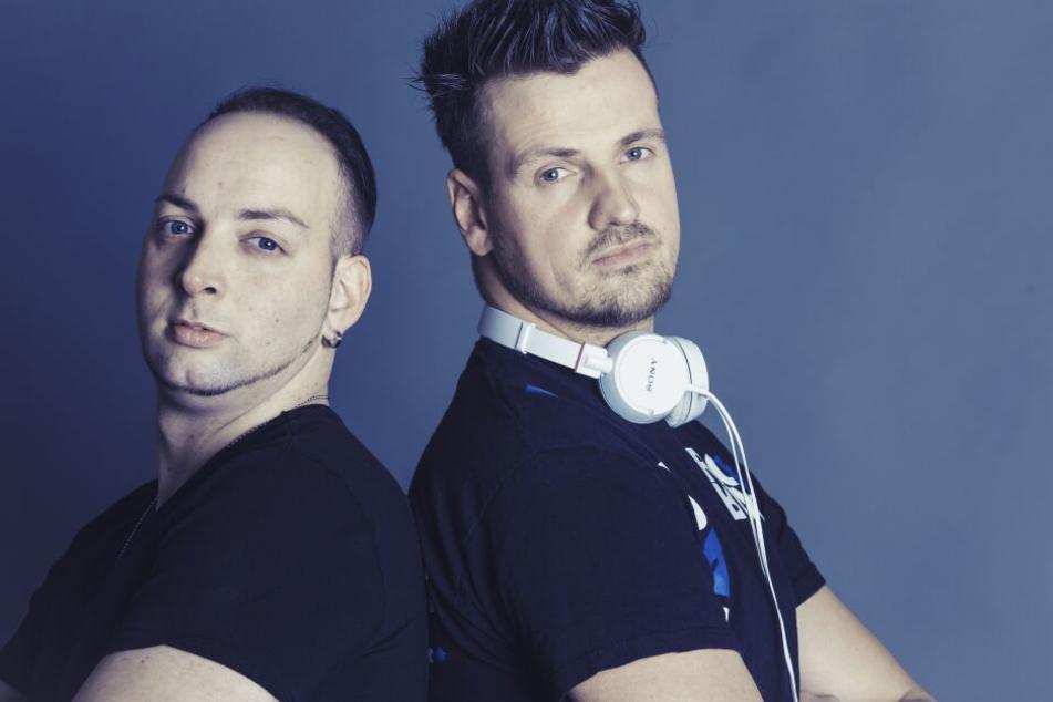 Hinter dem DJ-Duo Stereoact stehen die Musiker Sebastian Seidel und Rico Einenkel.