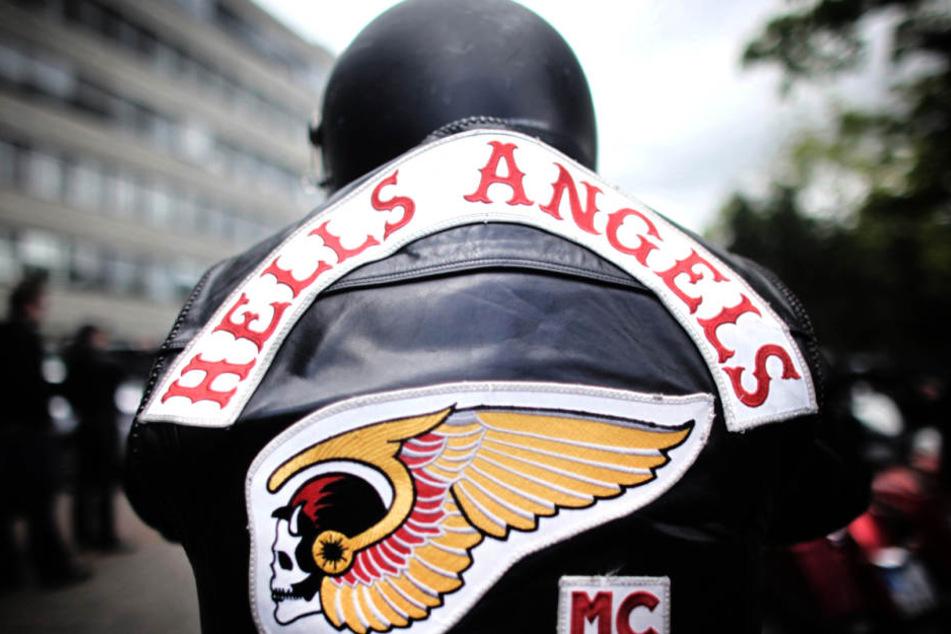 Der angeklagte Hells-Angels-Rocker plädiert auf Selbstverteidigung (Symbolbild).