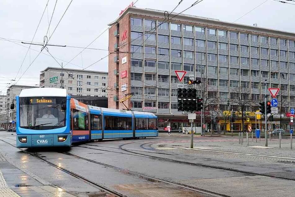 Die Linien 1 und 2 fahren ab Montag nicht über Bahnhof-/Brücken-/Straße der Nationen.