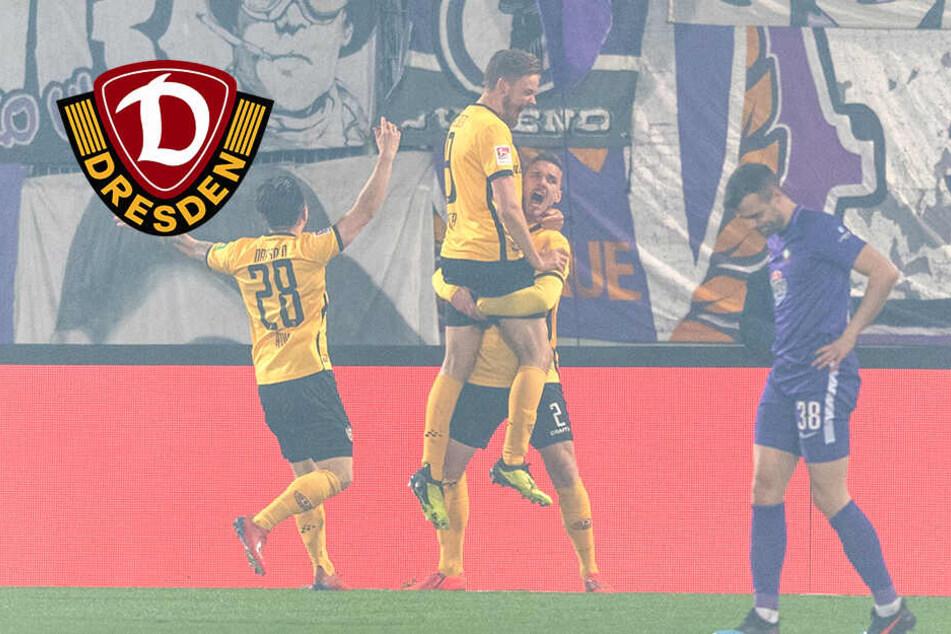 Derbysieger! Dynamo triumphiert nach Rückstand in Aue