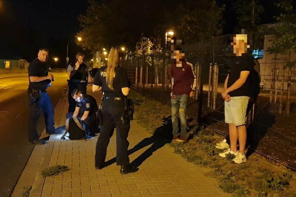Die Polizei Potsdam musste am Freitagabend zu einer Geburtstagsfeier ausrücken.