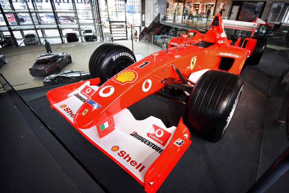 In dieser Ausstellung gibt's Persönliches von Michael Schumacher