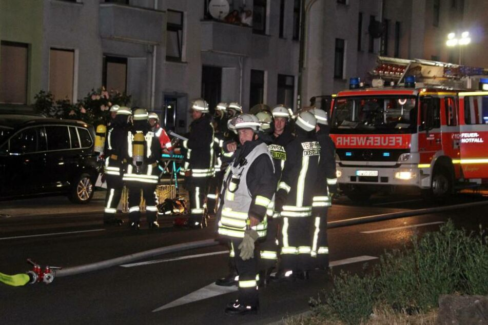 Die betroffene Wohnung an der Ronsdorfer Straße brannte vollkommen aus.