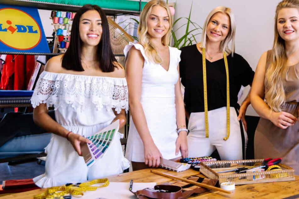 V.l.n.r: Shanti Joan Tan, Patrizia Palme, Valentina Pahde und Katrin Motz sind die Stars der Influencer-Kampagne.