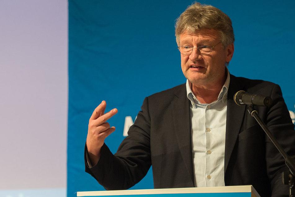 Jörg Meuthen und seine Parteikollegen finden, dass die AfD in Talk-Shows zu wenig vertreten ist.