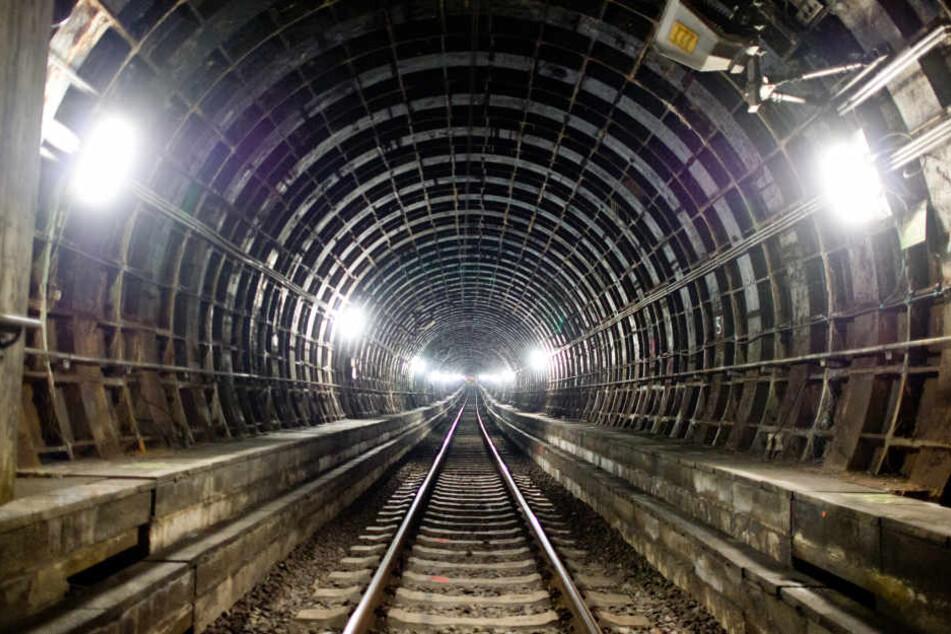 Der sonst vielbefahrene S-Bahn-Tunnel bleibt bis in die Nacht zum Montag leern.