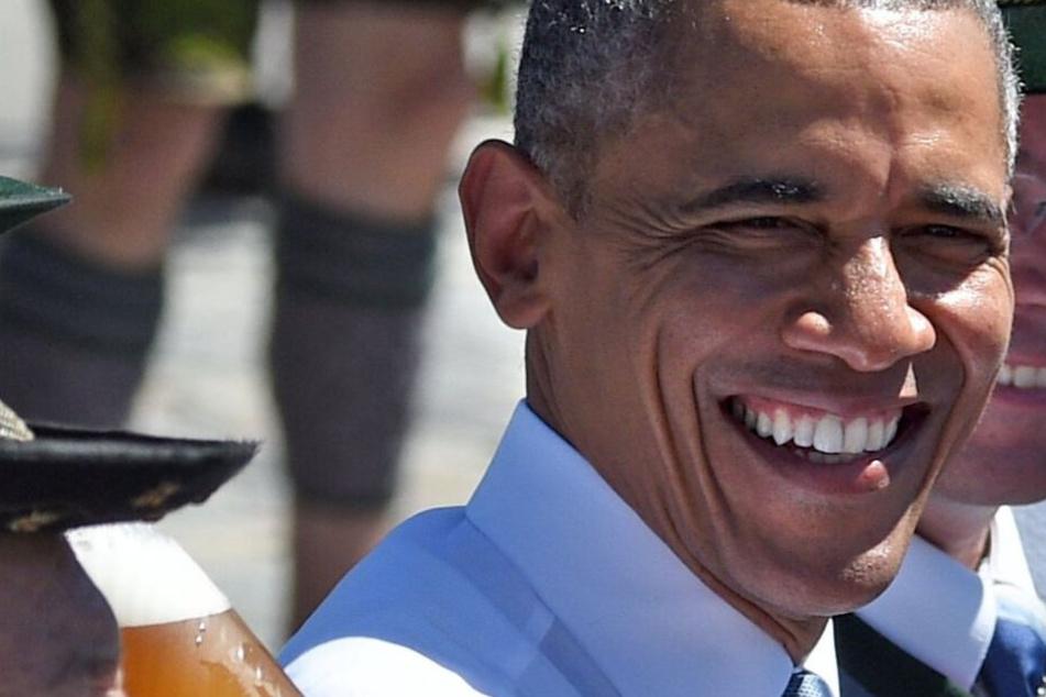 Start-up-Festival und Oktoberfest? Barack Obama besucht München