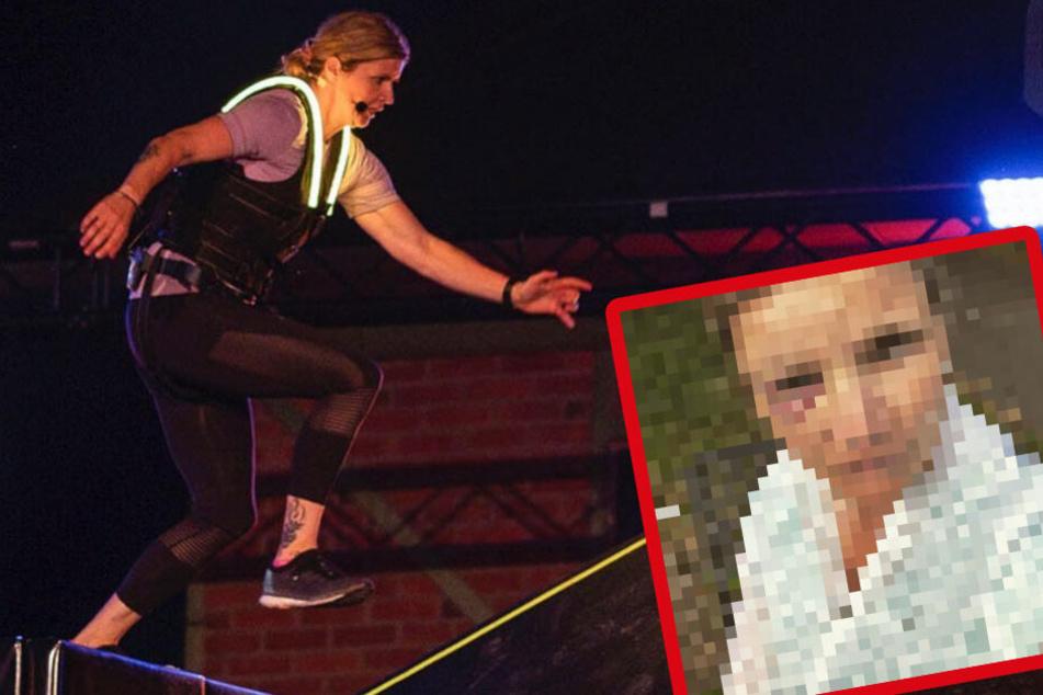"""""""Renn zur Million"""": Sandra Kiriasis stürzt drei Meter in die Tiefe!"""
