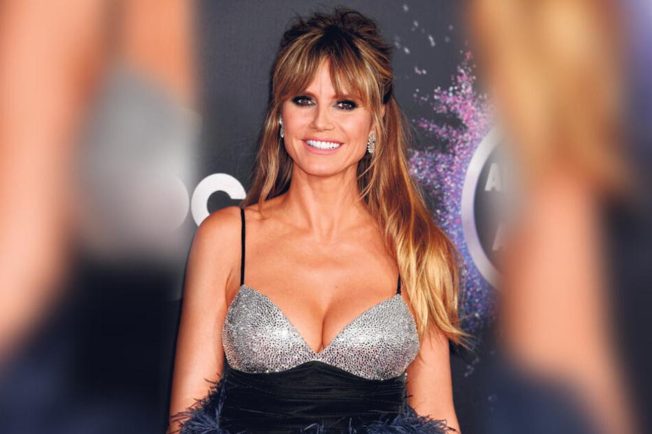 """Heidi Klums (46) Brüste sind seit jeher unter den Namen """"Hans"""" und """"Franz"""" bekannt."""