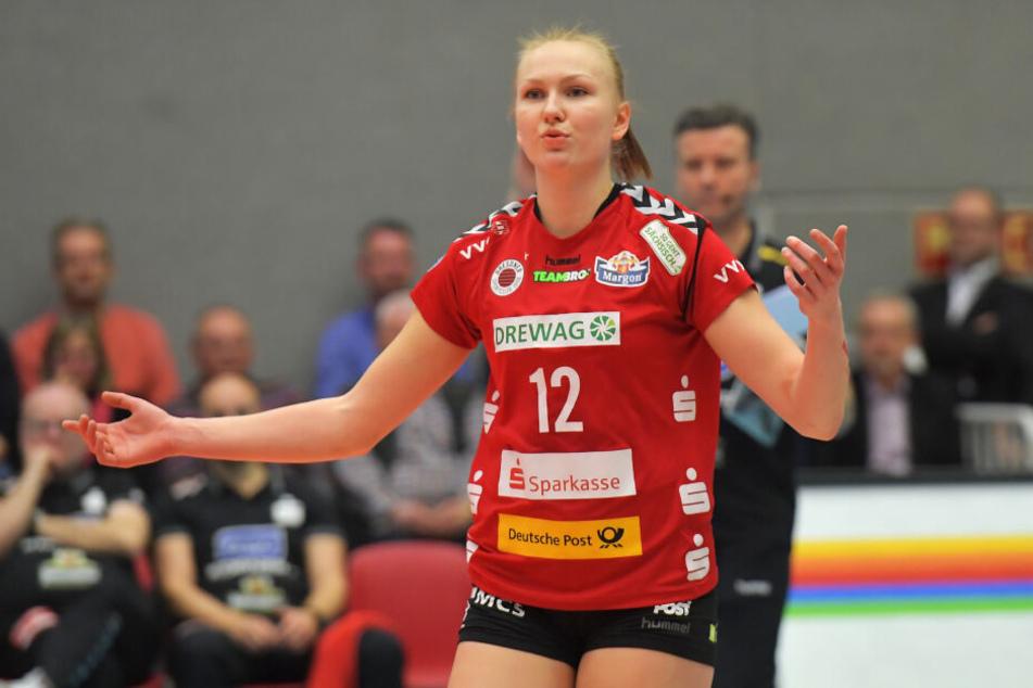 Piia Korhonen wird in Wiesbaden wieder in der Startformation stehen.