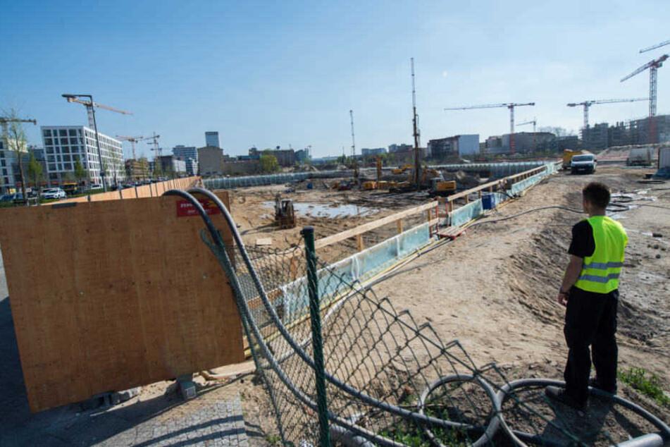 Auf einem Baugrundstück an der Heidestraße wurde eine Weltkriegsbombe gefunden.
