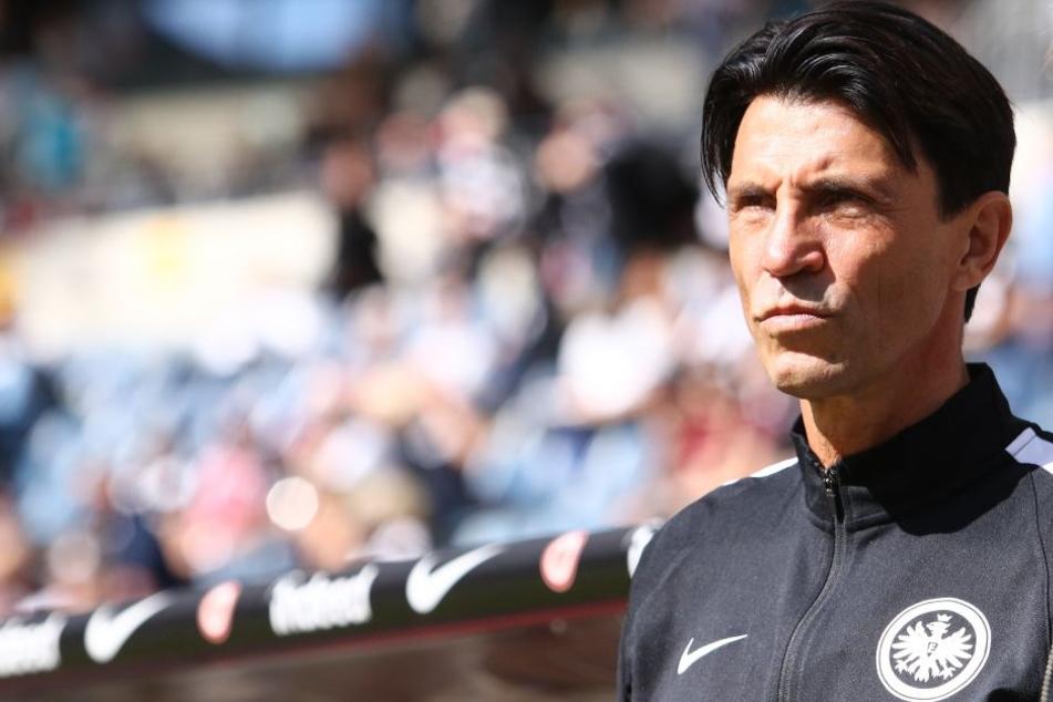 Bruno Hübner will von der Eintracht eine Reaktion in Köln sehen.