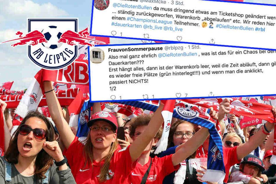 """""""Das ist Kreisliga!"""" RB Leipzigs Fans verärgert über Wartezeit für Dauerkarten"""