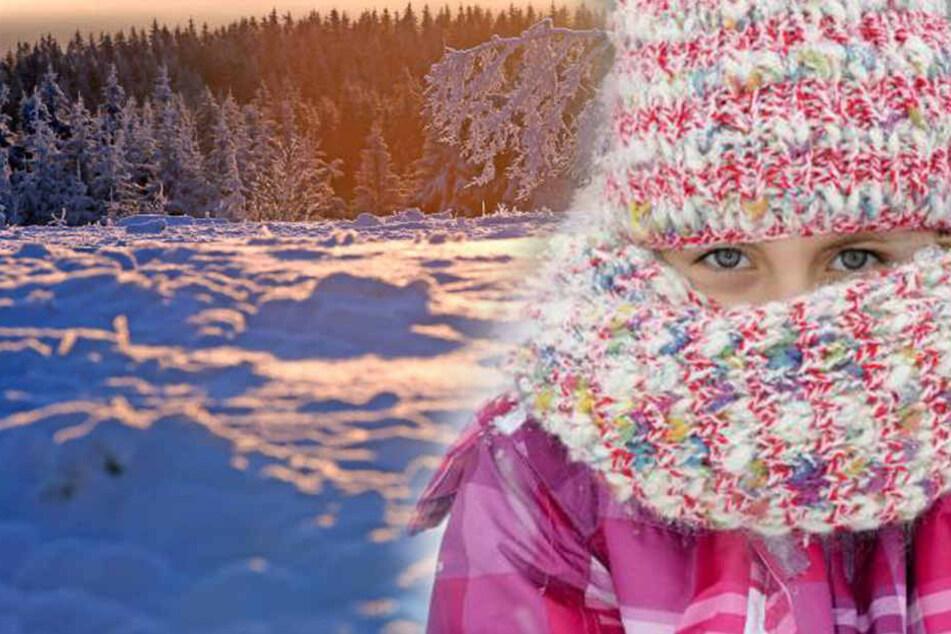 Jetzt heißt es SEHR warm anziehen! Ab nächster Woche gibt's im Freistaat zweistellige Minustemperaturen.