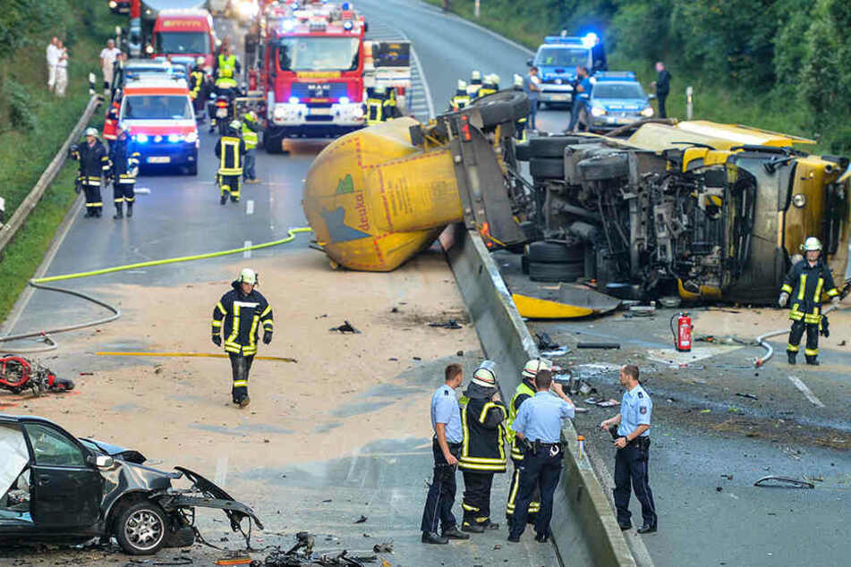 Bei diesem Unfall in Münster starben im September 2016 drei Menschen.