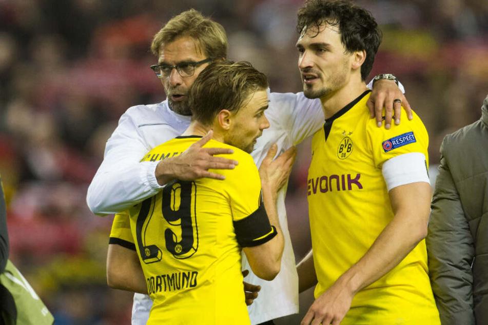 Seit seiner Zeit beim BVB für Marcel Schmelzer ein wichtiger Ansprechpartner: Liverpool-Trainer Jürgen Klopp.