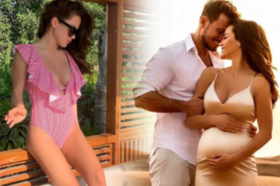 Angelina Heger und Sebastian Pannek werden Eltern.