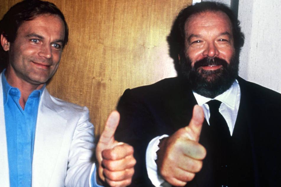 Bud Spencer (r.) und Terence Hill (l.) gehören für viele Menschen zu absoluten Film-Legenden.
