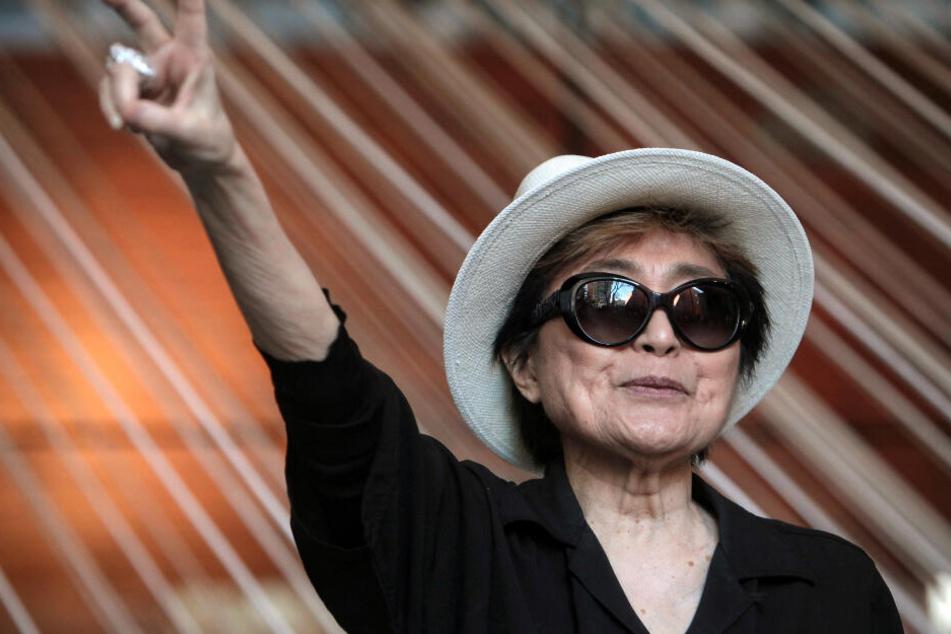 Leipzig: Lennon-Witwe Yoko Ono kommt nach Leipzig