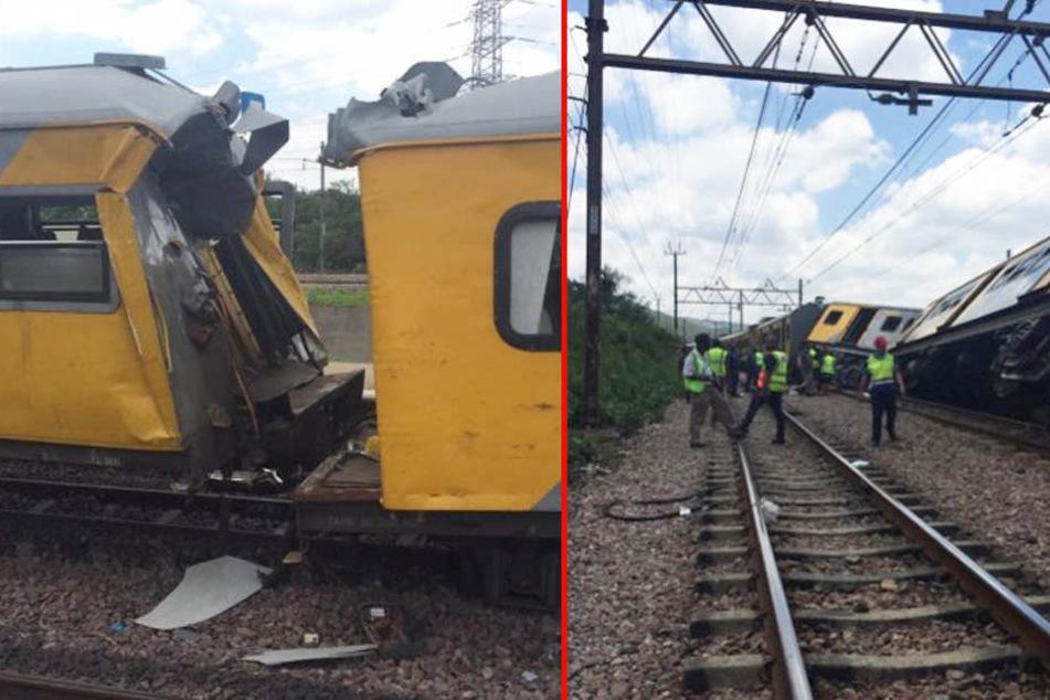 Personenzüge prallen frontal aufeinander: Drei Tote, 200 Verletzte