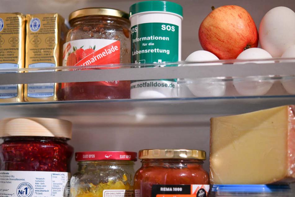 Den Kühlschrank findet man in jedem Haushalt schnell. (Symbolbild)